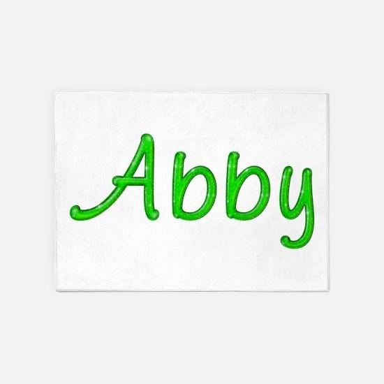Abby Glitter Gel 5'x7' Area Rug
