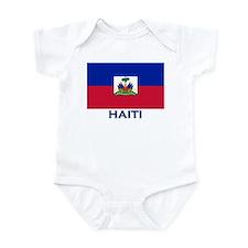Flag of Haiti Infant Bodysuit