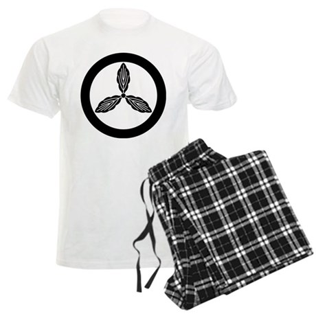 Tosa oak in circle Men's Light Pajamas
