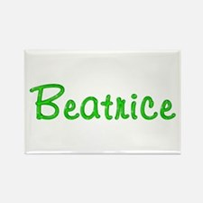 Beatrice Glitter Gel Rectangle Magnet