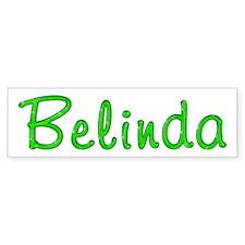 Belinda Glitter Gel Bumper Bumper Sticker