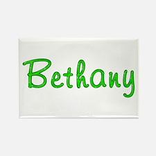 Bethany Glitter Gel Rectangle Magnet