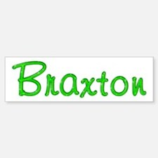 Braxton Glitter Gel Bumper Car Car Sticker