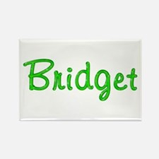 Bridget Glitter Gel Rectangle Magnet