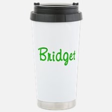 Bridget Glitter Gel Stainless Steel Travel Mug