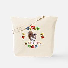 Squirrel Lover Tote Bag