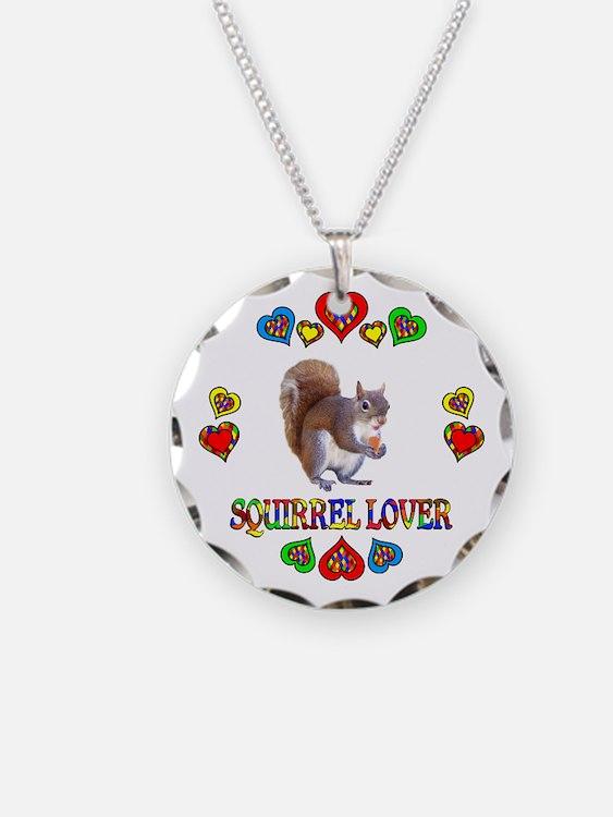 Squirrel Lover Necklace