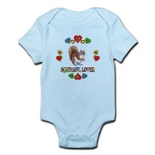 Squirrel Lover Infant Bodysuit
