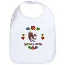 Squirrel Lover Bib