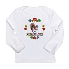 Squirrel Lover Long Sleeve Infant T-Shirt