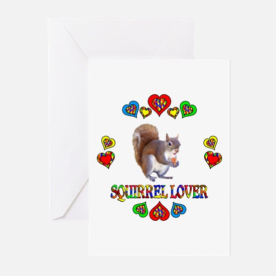 Squirrel Lover Greeting Cards (Pk of 20)
