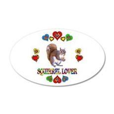 Squirrel Lover Wall Decal