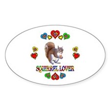 Squirrel Lover Decal