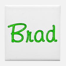 Brad Glitter Gel Tile Coaster