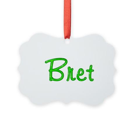 Bret Glitter Gel Picture Ornament