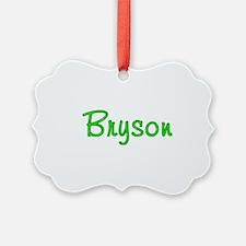 Bryson Glitter Gel Ornament