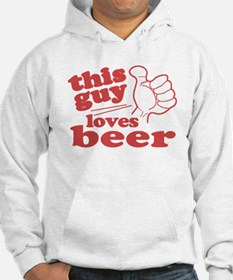This Guy Loves Beer Hoodie