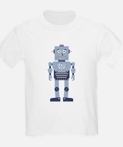 Heart Gear Robot T-Shirt