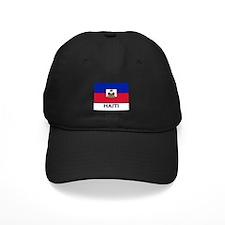 Haiti Flag Gear Baseball Hat