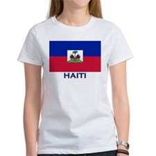 Haiti Flag Gear Tee