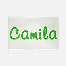 Camila Glitter Gel Rectangle Magnet