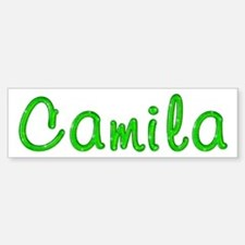 Camila Glitter Gel Bumper Bumper Bumper Sticker