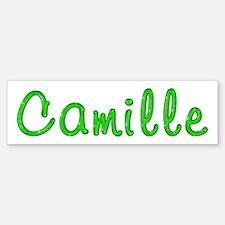 Camille Glitter Gel Bumper Bumper Bumper Sticker