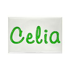Celia Glitter Gel Rectangle Magnet