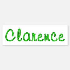 Clarence Glitter Gel Bumper Bumper Bumper Sticker
