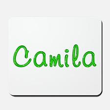 Camila Glitter Gel Mousepad