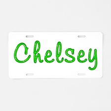 Chelsey Glitter Gel Aluminum License Plate