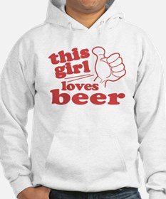 This Girl Loves Beer Hoodie