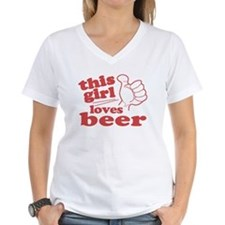 This Girl Loves Beer Shirt