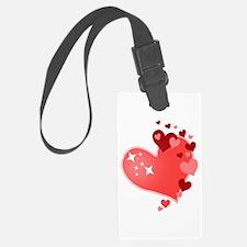 I Love You Hearts Luggage Tag