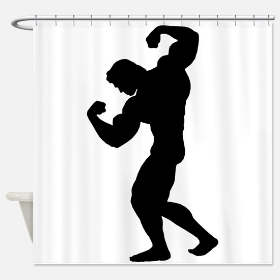 BODYBUILDER Shower Curtain