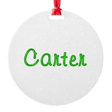 Carter Glitter Gel Ornament