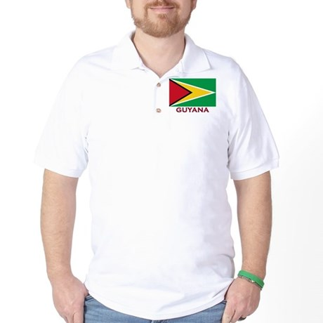 Flag of Guyana Golf Shirt