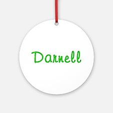 Darnell Glitter Gel Round Ornament