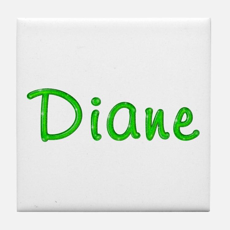 Diane Glitter Gel Tile Coaster