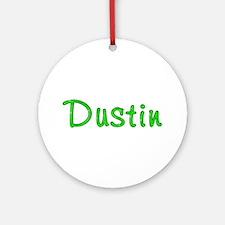 Dustin Glitter Gel Round Ornament