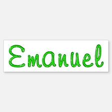 Emanuel Glitter Gel Bumper Bumper Bumper Sticker