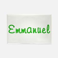Emmanuel Glitter Gel Rectangle Magnet