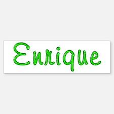 Enrique Glitter Gel Bumper Bumper Stickers