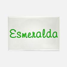 Esmeralda Glitter Gel Rectangle Magnet