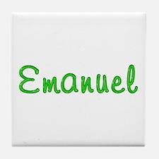 Emanuel Glitter Gel Tile Coaster