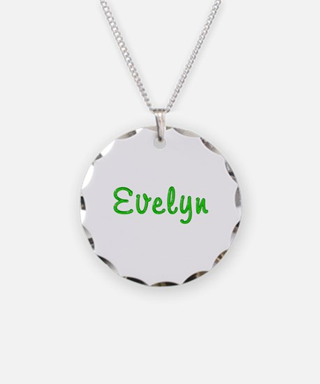 Evelyn Glitter Gel Necklace