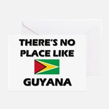 There Is No Place Like Guyana Greeting Cards (Pack
