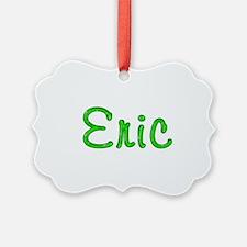 Eric Glitter Gel Ornament