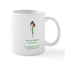 Thats not mistletoe Mug