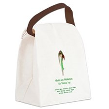 Thats not mistletoe Canvas Lunch Bag